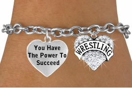 "<BR>            "" WRESTLING ""  TOGGLE CHARM BRACELET WHOLESALE <bR>                 W21481B - THE NEW WAY TO EXPRESS LOVE, MOTIVATION,<BR>          POSITIVE, AFFIRMATIVE EXPRESSIONS, THAT WILL GO PERFECTLY<br>        WITH ANOTHER POSITIVE AFFIRMATION CHARM IF YOU WANT  ONE,<BR>   MORE CHOICES LOOK BELOW,  CHARM BRACELET FROM $9.73 TO $14.58<BR>                                    CostumeJewelryWholesale.com �2014"
