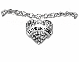 "<BR>""ADJUSTABLE"" TO FIT 4 YEAR OLD TO ADULT<BR>       ""FLOWER GIRL""  EXCLUSIVELY OURS!!   <Br>               AN ALLAN ROBIN DESIGN!!   <br>          HYPOALLERGENIC BRACELET<BR>        NICKEL, LEAD & CADMIUM FREE!!   <BR>W1683B2- FROM $5.98 TO $12.85 �2015"