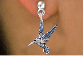 <BR>                    BIRD EARRINGS<bR>              EXCLUSIVELY OURS!! <Br>         AN ALLAN ROBIN DESIGN!! <BR>   LEAD, NICKEL & CADMIUM FREE!! <BR>  W1440SE - SILVER TONE WITH CLEAR <BR> CRYSTAL HUMMINGBIRD CHARM EARRINGS <BR>      FROM $5.40 TO $10.45 �2013