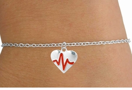 "<BR>                   CHILDREN'S 5 1/2"" ADJUSTABLE BRACELET ""THE PERFECT GIFT"",<BR>                                   ""Your Love Makes My Heart Beat"","" I Love You"", Or<BR>                                      In Recognition Of ""Children's Heart Disease""<BR>                           "" HEARTBEAT "" SMALL CHAIN ADJUSTABLE BRACELET<BR>                                     AN ORIGINAL ALLAN ROBIN CUSTOM DESIGN<br>                                                   WHOLESALE CHARM BRACELET <BR>                                                 LEAD, CADMIUM & NICKEL FREE!!  <BR>             W21601B-SMALL CHAIN, BRIGHT SILVER TONE ADJUSTABLE BRACELET <BR>              FITS 5 1/2"" TO 6 3/4"" WRIST SIZES FROM $5.60 TO $9.85 EACH! ©2015"