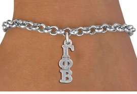 <BR>          CLICK ON PICTURE, SCROLL DOWN<BR>   TO SELECT YOUR SORORITIES GREEK LETTERS<bR>      WHOLESALE FASHION SORORITY JEWELRY  <BR>                     EXCLUSIVELY OURS!!  <BR>                AN ALLAN ROBIN DESIGN!!  <BR>          LEAD, NICKEL & CADMIUM FREE!!  <BR>     W21352B - OFFICIAL SILVER TONE CUSTOM  <BR> GREEK LETTER SORORITY CHARM ON  LOBSTER <Br>CLASP BRACELET FROM $5.90 TO $9.25 �2014