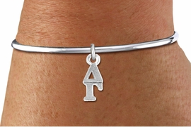 <BR>                CLICK ON PICTURE, SCROLL DOWN<BR>      TO SELECT YOUR SORORITIES GREEK LETTERS<bR>         WHOLESALE FASHION SORORITY JEWELRY  <BR>                        EXCLUSIVELY OURS!!  <BR>                   AN ALLAN ROBIN DESIGN!!  <BR>             LEAD, NICKEL & CADMIUM FREE!!  <BR>        W21362B - OFFICIAL SILVER TONE CUSTOM  <BR>  GREEK LETTER SORORITY CHARM ON  REMOVABLE<Br>SCREW BALL BRACELET FROM $5.90 TO $9.25 �2014