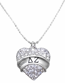 <BR>LICENSED SORORITY JEWELRY MANUFACTURER<BR>                  DELTA ZETA SORORITY NECKLACE<BR>                 NICKEL, LEAD,  & CADMIUM FREE! <BR>                       EXCLUSIVELY OURS W1735N1<BR>               FROM $7.90 TO $12.50 EACH �2015 <BR>