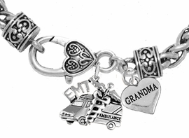 <BR>            EMT, GRANDMA CHARM BRACELET<BR>                             AN ALLAN ROBIN DESIGN!! <Br>                         CADMIUM, LEAD & NICKEL FREE!!  <Br> W1530-1832B1 ON A WHEAT CHAIN BRACELET <BR>                              FROM $7.50 TO $9.50 �2016
