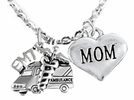 <BR>           EMT, I LOVE YOU MOM CHARM NECKLACE<BR>                             AN ALLAN ROBIN DESIGN!! <Br>                         CADMIUM, LEAD & NICKEL FREE!!  <Br>         W1530-1837N1 ON A CABLE CHAIN NECKLACE <BR>                              FROM $7.50 TO $9.50 �2016