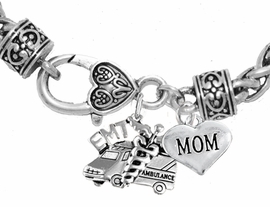 <BR>                             EMT, MOM CHARM BRACELET<BR>                                 AN ALLAN ROBIN DESIGN!! <Br>                         CADMIUM, LEAD & NICKEL FREE!!  <Br>            W1530-1837B1 ON A WHEAT CHAIN BRACELET <BR>                              FROM $7.50 TO $9.50 �2016