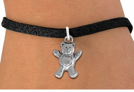<bR>                 EXCLUSIVELY OURS!!<BR>           AN ALLAN ROBIN DESIGN!!<BR>  CLICK HERE TO SEE 1000+ EXCITING<BR>     CHANGES THAT YOU CAN MAKE!<BR> ABSOLUTELY LEAD & NICKEL FREE!! <BR>  W848SB - DETAILED SILVER TONE <BR>TEDDY BEAR CHARM & BRACELET <BR>        FROM $4.15 TO $8.00 �2012