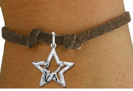 <bR>               EXCLUSIVELY OURS!!<BR>         AN ALLAN ROBIN DESIGN!!<BR>CLICK HERE TO SEE 1000+ EXCITING<BR>   CHANGES THAT YOU CAN MAKE!<BR>  CADMIUM,  LEAD & NICKEL FREE!! <BR>W1310SB - SILVER TONE GYMNAST POSED <BR>  IN STAR CHARM CHILDS BRACELET <BR>     FROM $4.15 TO $8.00 �2012