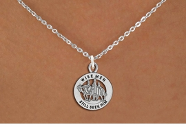 "<bR>                 EXCLUSIVELY OURS!!<BR>           AN ALLAN ROBIN DESIGN!!<BR>  CLICK HERE TO SEE 1000+ EXCITING<BR>     CHANGES THAT YOU CAN MAKE!<BR> CADMIUM, LEAD & NICKEL FREE!! <BR>W1315SN - ROUND SILVER TONE <BR>   ""WISE MEN"" CHRISTMAS CHARM <BR>& NECKLACE FROM $4.50 TO $8.35 �2012"