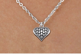 <bR>                EXCLUSIVELY OURS!!<BR>          AN ALLAN ROBIN DESIGN!!<BR> CLICK HERE TO SEE 1000+ EXCITING<BR>    CHANGES THAT YOU CAN MAKE!<BR>CADMIUM, LEAD & NICKEL FREE!! <BR> W1322SN - ANTIQUED SILVER TONE <BR>SCRIPT HEART CHARM & CHILDS <BR>NECKLACE FROM $4.50 TO $8.35 �2012