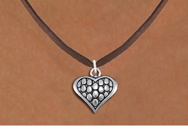 <bR>                EXCLUSIVELY OURS!!<BR>          AN ALLAN ROBIN DESIGN!!<BR> CLICK HERE TO SEE 1000+ EXCITING<BR>    CHANGES THAT YOU CAN MAKE!<BR>CADMIUM, LEAD & NICKEL FREE!! <BR> W1322SN - ANTIQUED SILVER TONE <BR>SCRIPT HEART CHARM & NECKLACE <BR>     FROM $4.50 TO $8.35 �2012