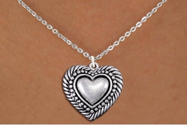 <bR>                EXCLUSIVELY OURS!!<BR>          AN ALLAN ROBIN DESIGN!!<BR> CLICK HERE TO SEE 1000+ EXCITING<BR>    CHANGES THAT YOU CAN MAKE!<BR>CADMIUM, LEAD & NICKEL FREE!! <BR> W1326SN - ANTIQUED SILVER TONE <BR>SCRIPT HEART CHARM & NECKLACE <BR>     FROM $4.50 TO $8.35 �2012