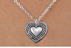 <bR>                EXCLUSIVELY OURS!!<BR>          AN ALLAN ROBIN DESIGN!!<BR> CLICK HERE TO SEE 1000+ EXCITING<BR>    CHANGES THAT YOU CAN MAKE!<BR>CADMIUM, LEAD & NICKEL FREE!! <BR> W1326SN - ANTIQUED SILVER TONE <BR>SCRIPT HEART & CHILD'S NECKLACE <BR>     FROM $4.50 TO $8.35 �2012