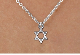 <bR>                EXCLUSIVELY OURS!!<BR>          AN ALLAN ROBIN DESIGN!!<BR> CLICK HERE TO SEE 1000+ EXCITING<BR>    CHANGES THAT YOU CAN MAKE!<BR>CADMIUM, LEAD & NICKEL FREE!! <BR>W1330SN - SMALL SILVER TONE <BR>STAR OF DAVID & CHILDS NECKLACE <BR>     FROM $4.50 TO $8.35 �2012