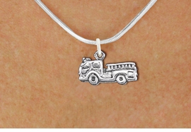 <bR>                EXCLUSIVELY OURS!!<BR>          AN ALLAN ROBIN DESIGN!!<BR> CLICK HERE TO SEE 1000+ EXCITING<BR>    CHANGES THAT YOU CAN MAKE!<BR>CADMIUM, LEAD & NICKEL FREE!! <BR> W1350SN - ANTIQUED SILVER TONE <BR>FIRE ENGINE CHARM & NECKLACE <BR>     FROM $4.50 TO $8.35 �2012