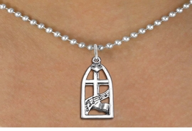 """<bR>                EXCLUSIVELY OURS!!<BR>          AN ALLAN ROBIN DESIGN!!<BR> CLICK HERE TO SEE 1000+ EXCITING<BR>    CHANGES THAT YOU CAN MAKE!<BR>CADMIUM, LEAD & NICKEL FREE!! <BR> W1364SN - ANTIQUED SILVER TONE <BR>  """"SING JOYFULLY UNTO THE LORD"""" <BR>       RELIGIOUS CHARM & NECKLACE <BR>     FROM $4.50 TO $8.35 �2012"""