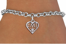 <bR>                 EXCLUSIVELY OURS!! <BR>            AN ALLAN ROBIN DESIGN!! <BR>   CLICK HERE TO SEE 1000+ EXCITING <BR>         CHANGES THAT YOU CAN MAKE! <BR>      CADMIUM, LEAD & NICKEL FREE!! <BR> W1430SB - EMT HEART CHARM & BRACELET <BR>           FROM $4.15 TO $8.00 �2013
