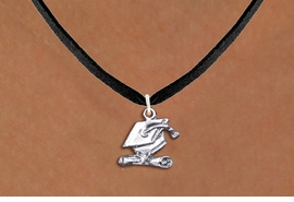 <bR>                  EXCLUSIVELY OURS!! <BR>             AN ALLAN ROBIN DESIGN!! <BR>    CLICK HERE TO SEE 1000+ EXCITING <BR>          CHANGES THAT YOU CAN MAKE! <BR>       CADMIUM, LEAD & NICKEL FREE!! <BR> W1431SN - SILVER TONE GRADUATION CAP <BR>          AND DIPLOMA CHARM NECKLACE <BR>            FROM $4.50 TO $8.35 �2013