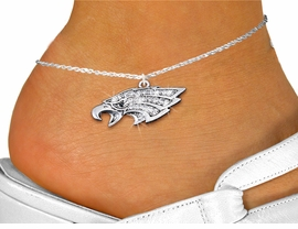 <bR>                 EXCLUSIVELY OURS!!<BR>           AN ALLAN ROBIN DESIGN!!<BR>  CLICK HERE TO SEE 1000+ EXCITING<BR>     CHANGES THAT YOU CAN MAKE!<BR>LEAD, NICKEL & CADMIUM FREE!!<BR>W1318SAK - DETAILED EAGLE HEAD <BR>      CRYSTAL CHARM AND ANKLET <Br>      FROM $5.40 TO $9.85 �2012