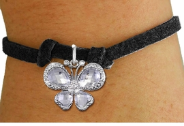 <bR>                 EXCLUSIVELY OURS!! <Br>             AN ALLAN ROBIN DESIGN!! <BR>    CLICK HERE TO SEE 1000+ EXCITING <BR>       CHANGES THAT YOU CAN MAKE!<BR>       LEAD, NICKEL & CADMIUM FREE!! <BR>    W1396SB - SILVER TONE AND CLEAR <BR> CRYSTAL BUTTERFLY CHARM & BRACELET <BR>         FROM $5.40 TO $9.85 �2013