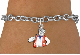 <bR>                     EXCLUSIVELY OURS!!<BR>               AN ALLAN ROBIN DESIGN!!<BR>      CLICK HERE TO SEE 1000+ EXCITING<BR>         CHANGES THAT YOU CAN MAKE!<BR>                  LEAD & NICKEL FREE!! <BR>W1299SB - SILVER TONE HAND PAINTED <BR>SQUARE DANCE CALLER CHARM BRACELET <BR>           FROM $4.15 TO $8.00 �2012