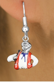 <bR>               EXCLUSIVELY OURS!!<BR>         AN ALLAN ROBIN DESIGN!!<BR>CLICK HERE TO SEE 1000+ EXCITING<BR>   CHANGES THAT YOU CAN MAKE!<BR>                  LEAD & NICKEL FREE!! <BR>W1299SE -  SILVER TONE HAND PAINTED <BR>SQUARE DANCE CALLER CHARM EARRINGS  <BR>      FROM $4.50 TO $8.35 �2012