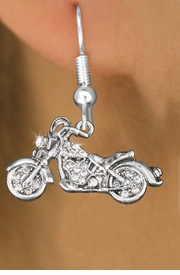 <bR>                   EXCLUSIVELY OURS!!<Br>             AN ALLAN ROBIN DESIGN!!<BR>    CLICK HERE TO SEE 120+ EXCITING<BR>       CHANGES THAT YOU CAN MAKE!<BR>        LEAD, NICKEL & CADMIUM FREE!!<BR>W1188SE - CRYSTAL  MOTORCYCLE CHARM<BR> EARRINGS FROM $4.95 TO $10.00 �2012