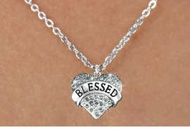 "<bR>                   EXCLUSIVELY OURS!!<Br>             AN ALLAN ROBIN DESIGN!!<BR>    CLICK HERE TO SEE 120+ EXCITING<BR>       CHANGES THAT YOU CAN MAKE!<BR>     LEAD, NICKEL & CADMIUM FREE!!<BR>W1211SN - SMOKY CRYSTAL ""BLESSED"" <BR>    HEART CHARM & CHILDS NECKLACE <BR>        FROM $5.40 TO $9.85 �2012"