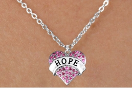 "<bR>                EXCLUSIVELY OURS!!<Br>          AN ALLAN ROBIN DESIGN!! <BR> CLICK HERE TO SEE 120+ EXCITING<BR>    CHANGES THAT YOU CAN MAKE!<BR>   LEAD, NICKEL & CADMIUM FREE!!<BR>W1214SN - FUCHSIA CRYSTAL ""HOPE"" <BR> HEART CHARM & CHILDS NECKLACE <BR>        FROM $5.40 TO $9.85 �2012"