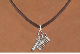 <bR>                  EXCLUSIVELY OURS!!<Br>            AN ALLAN ROBIN DESIGN!!<BR>   CLICK HERE TO SEE 120+ EXCITING<BR>      CHANGES THAT YOU CAN MAKE!<BR>     LEAD, NICKEL & CADMIUM FREE!!<BR>W1251SN - CRYSTAL SCISSORS & COMB <BR>SILVER TONE CHARM & NECKLACE <BR>         FROM $5.40 TO $9.85 �2012