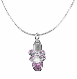 <bR>                  EXCLUSIVELY OURS!!<Br>            AN ALLAN ROBIN DESIGN!!<BR>   CLICK HERE TO SEE 120+ EXCITING<BR>      CHANGES THAT YOU CAN MAKE!<BR>     LEAD, NICKEL & CADMIUM FREE!!<BR>     W1270SN - BALLERINA SHOE<BR>      CRYSTAL CHARM AND NECKLACE <BR>         FROM $5.40 TO $9.85 �2012