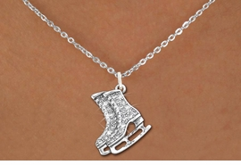 <bR>                  EXCLUSIVELY OURS!!<Br>            AN ALLAN ROBIN DESIGN!!<BR>   CLICK HERE TO SEE 120+ EXCITING<BR>      CHANGES THAT YOU CAN MAKE!<BR>     LEAD, NICKEL & CADMIUM FREE!!<BR>     W1271SN - DETAILED ICE SKATES <BR>      CRYSTAL CHARM AND NECKLACE <BR>         FROM $5.40 TO $9.85 �2012