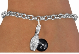 <bR>               EXCLUSIVELY OURS!!<Br>         AN ALLAN ROBIN DESIGN!! <BR>CLICK HERE TO SEE 120+ EXCITING <BR>   CHANGES THAT YOU CAN MAKE!<BR>   LEAD, NICKEL & CADMIUM FREE!! <BR>W1272SB - BOWLING BALL AND PIN <BR>     CRYSTAL CHARM & BRACELET <BR>     FROM $5.40 TO $9.85 �2012
