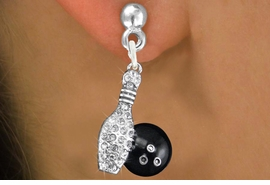 <bR>                 EXCLUSIVELY OURS!!<Br>           AN ALLAN ROBIN DESIGN!!<BR>  CLICK HERE TO SEE 120+ EXCITING<BR>     CHANGES THAT YOU CAN MAKE!<BR>     LEAD, NICKEL & CADMIUM FREE!!<BR>  W1272SE - BOWLING BALL AND PIN <BR>      CRYSTAL CHARM EARRINGS <BR>       FROM $4.95 TO $10.00 �2012