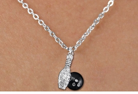 <bR>                  EXCLUSIVELY OURS!!<Br>            AN ALLAN ROBIN DESIGN!!<BR>   CLICK HERE TO SEE 120+ EXCITING<BR>      CHANGES THAT YOU CAN MAKE!<BR>     LEAD, NICKEL & CADMIUM FREE!!<BR> W1272SN - BOWLING BALL AND PIN <BR>CRYSTAL CHARM AND CHILDS NECKLACE <BR>         FROM $5.40 TO $9.85 �2012