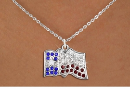 <bR>                  EXCLUSIVELY OURS!!<Br>            AN ALLAN ROBIN DESIGN!!<BR>   CLICK HERE TO SEE 120+ EXCITING<BR>      CHANGES THAT YOU CAN MAKE!<BR>     LEAD, NICKEL & CADMIUM FREE!!<BR> W1302SN - TEXAS STATE FLAG <BR>      CRYSTAL CHARM AND NECKLACE <BR>         FROM $5.40 TO $9.85 �2012