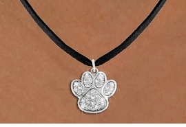 <bR>                  EXCLUSIVELY OURS!!<Br>            AN ALLAN ROBIN DESIGN!!<BR>   CLICK HERE TO SEE 120+ EXCITING<BR>      CHANGES THAT YOU CAN MAKE!<BR>     LEAD, NICKEL & CADMIUM FREE!!<BR> W1306N3 - BEAUTIFUL PAW PRINT <BR>      CRYSTAL CHARM AND NECKLACE <BR>         FROM $5.40 TO $9.85 �2012