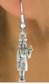 <bR>                 EXCLUSIVELY OURS!!<Br>           AN ALLAN ROBIN DESIGN!!<BR>  CLICK HERE TO SEE 120+ EXCITING<BR>     CHANGES THAT YOU CAN MAKE!<BR>                LEAD & NICKEL FREE!!<BR>W1033SE - NURSE WITH MEDICINE BOTTLE <BR>                    CHARM & EARRINGS <br>                FROM $4.50 TO $8.35 �2012