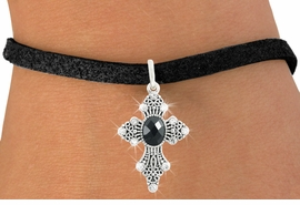 <bR>                   EXCLUSIVELY OURS!!<Br>             AN ALLAN ROBIN DESIGN!!<BR>    CLICK HERE TO SEE 120+ EXCITING<BR>       CHANGES THAT YOU CAN MAKE!<BR>                  LEAD & NICKEL FREE!!<BR>  W1082SB - ORNATE CROSS CHARM &<Br>BRACELET FROM $5.15 TO $9.00 �2011