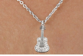 <bR>                      EXCLUSIVELY OURS!!<Br>                AN ALLAN ROBIN DESIGN!!<BR>       CLICK HERE TO SEE 120+ EXCITING<BR>          CHANGES THAT YOU CAN MAKE!<BR>                     LEAD & NICKEL FREE!!<BR>W1169SN - CRYSTAL ACOUSTIC GUITAR CHARM<BR> & CHILDRENS NECKLACE FROM $5.40 TO $9.85 �2012