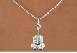 <bR>                      EXCLUSIVELY OURS!!<Br>                AN ALLAN ROBIN DESIGN!!<BR>       CLICK HERE TO SEE 120+ EXCITING<BR>          CHANGES THAT YOU CAN MAKE!<BR>                     LEAD & NICKEL FREE!!<BR>W1169SN - CRYSTAL ACOUSTIC GUITAR CHARM<BR> & NECKLACE FROM $5.40 TO $9.85 �2012