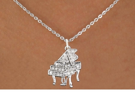 <bR>                      EXCLUSIVELY OURS!!<Br>                AN ALLAN ROBIN DESIGN!!<BR>       CLICK HERE TO SEE 120+ EXCITING<BR>          CHANGES THAT YOU CAN MAKE!<BR>                     LEAD & NICKEL FREE!!<BR>W1170SN - CRYSTAL GRAND PIANO CHARM<BR> & NECKLACE FROM $5.40 TO $9.85 �2012