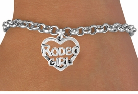 <bR>               EXCLUSIVELY OURS!!<Br>         AN ALLAN ROBIN DESIGN!!<BR>CLICK HERE TO SEE 120+ EXCITING<BR>   CHANGES THAT YOU CAN MAKE!<BR>              LEAD & NICKEL FREE!!<BR>     W607SB - RODEO GIRL HEART<Br>     & BRACELET AS LOW AS $4.50
