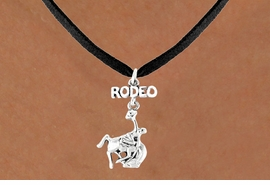 <bR>                EXCLUSIVELY OURS!!<Br>          AN ALLAN ROBIN DESIGN!!<BR> CLICK HERE TO SEE 120+ EXCITING<BR>    CHANGES THAT YOU CAN MAKE!<BR>               LEAD & NICKEL FREE!!<BR>W609SN - RODEO BUCKIN BRONCO<BR>      & NECKLACE AS LOW AS $4.50
