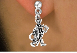 "<bR>               EXCLUSIVELY OURS!!<Br>         AN ALLAN ROBIN DESIGN!!<BR>CLICK HERE TO SEE 120+ EXCITING<BR>   CHANGES THAT YOU CAN MAKE!<BR>              LEAD & NICKEL FREE!!<BR>           W615SE - ""LITTLE DEVIL""<Br>     & EARRINGS FROM $4.50 TO $8.35"