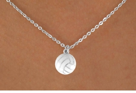 <bR>               EXCLUSIVELY OURS!!<Br>         AN ALLAN ROBIN DESIGN!!<BR>CLICK HERE TO SEE 120+ EXCITING<BR>   CHANGES THAT YOU CAN MAKE!<BR>              LEAD & NICKEL FREE!!<BR>    W620SN - SMALL VOLLEYBALL<BR>     & NECKLACE AS LOW AS $4.50