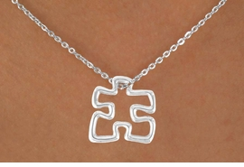 <bR>                  EXCLUSIVELY OURS!!<Br>            AN ALLAN ROBIN DESIGN!!<BR>   CLICK HERE TO SEE 120+ EXCITING<BR>     CHANGES THAT YOU CAN MAKE!<BR>                LEAD & NICKEL FREE!!<BR>    W622SN - LARGE AUTISM PUZZLE<Br>      PIECE & NECKLACE ©2010 FROM<Br>                        $5.25 TO $9.50