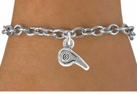<bR>               EXCLUSIVELY OURS!!<Br>         AN ALLAN ROBIN DESIGN!!<BR>CLICK HERE TO SEE 120+ EXCITING<BR>  CHANGES THAT YOU CAN MAKE!<BR>             LEAD & NICKEL FREE!!<BR>       W625SB - WHISTLE CHARM<Br>     & BRACELET AS LOW AS $4.50