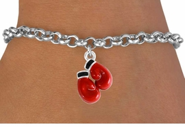 <bR>              EXCLUSIVELY OURS!!<Br>         AN ALLAN ROBIN DESIGN!!<BR>CLICK HERE TO SEE 120+ EXCITING<BR>  CHANGES THAT YOU CAN MAKE!<BR>             LEAD & NICKEL FREE!!<BR> W641SB - RED BOXING GLOVES &<Br>   BRACELET FROM $4.50 TO $8.35