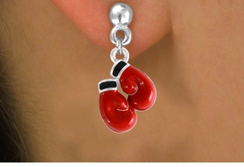 <bR>                EXCLUSIVELY OURS!!<Br>          AN ALLAN ROBIN DESIGN!!<BR> CLICK HERE TO SEE 120+ EXCITING<BR>    CHANGES THAT YOU CAN MAKE!<BR>               LEAD & NICKEL FREE!!<BR>     W641SE - RED BOXING GLOVES<Br> & EARRINGS FROM $4.50 TO $8.35